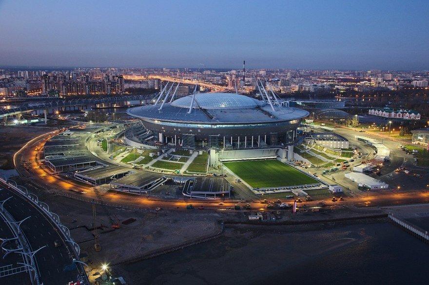 стадион Санкт-Петербурге